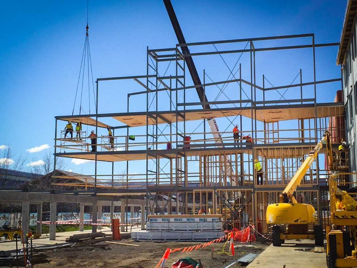 UTAS CLT Construction Completed