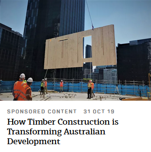 How Timber Construction is Transforming Australian Development - The Urban Developer