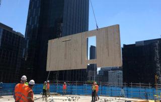 CLT Mass timber development in progress