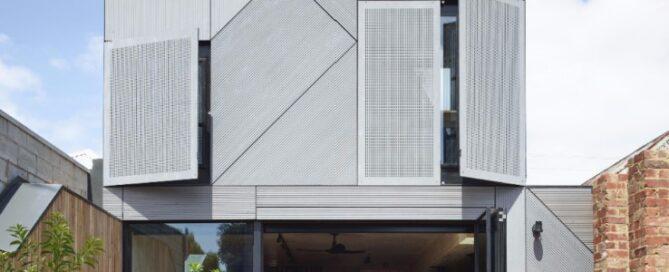 Dezeen Award long listed CLT Timber Union House
