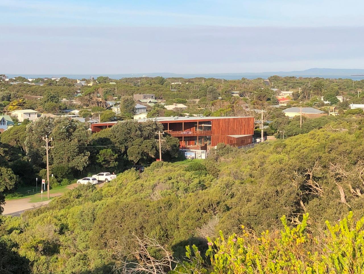 View of PLSLSC in surrounding landscape