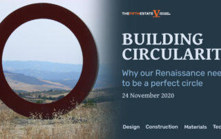 "The Fifth Estate's virtual symposium ""Building Circularity"""