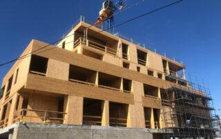 Engineered Timber CLT building Thornbury