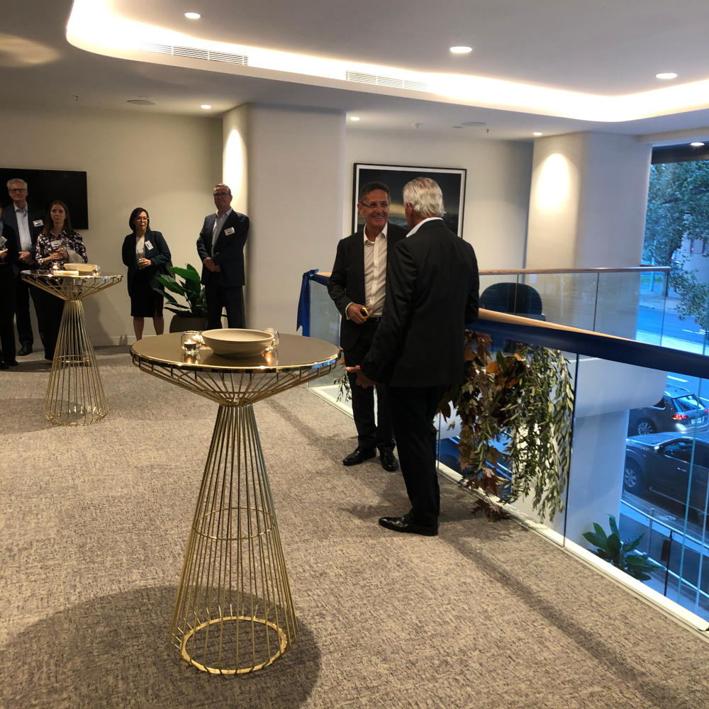 Attendees at the opening of Adina Apartment Hotel