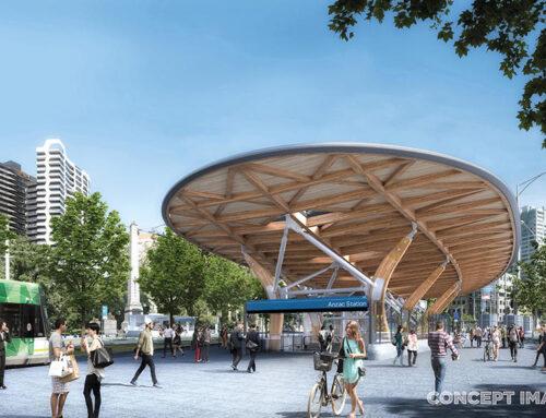 ANZAC Station – A New Melbourne Icon
