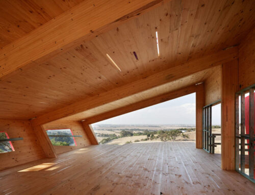 Ceres Mass Timber (CLT and GLT) house nears completion