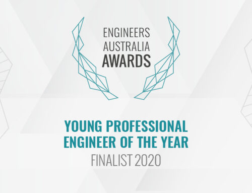 Nathan Benbow – Young Professional Engineer of the Year Finalist 2020